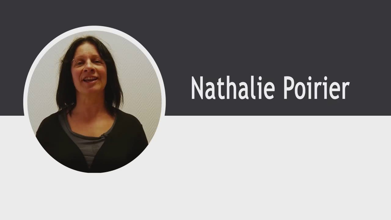 CV Nathalie Poirier