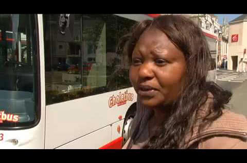 Les CV s'exposent sur les bus choletais