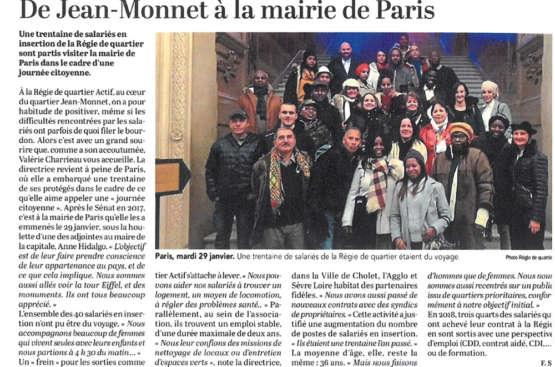 De Jean-Monnet à la mairie de Paris
